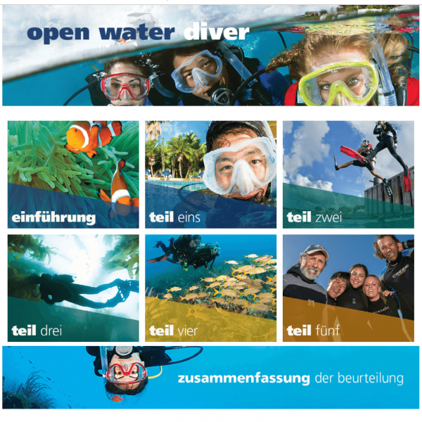 PADI Open Water Diver touch (eLearning)