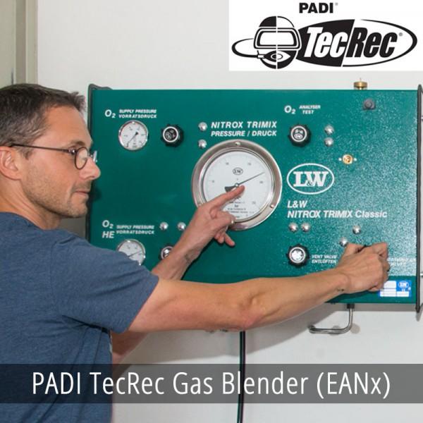 PADI TecRec Gas Blender (EANx)