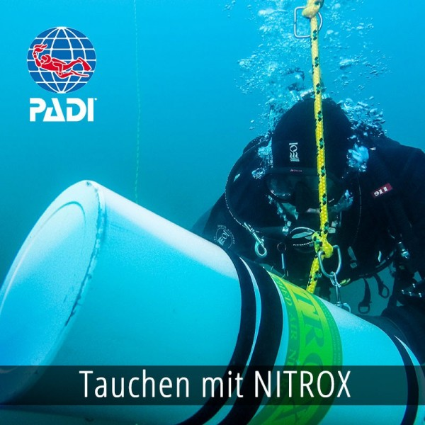 PADI Enriched Air Nitrox (max 40%)