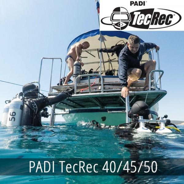 PADI TecRec 40/45/50