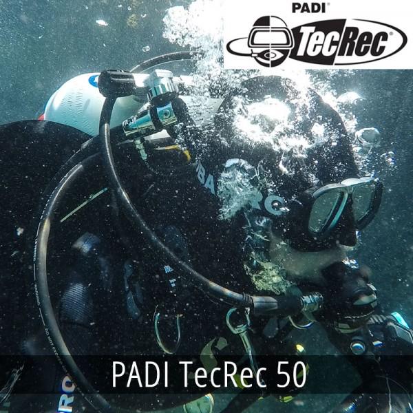 PADI TecRec 50