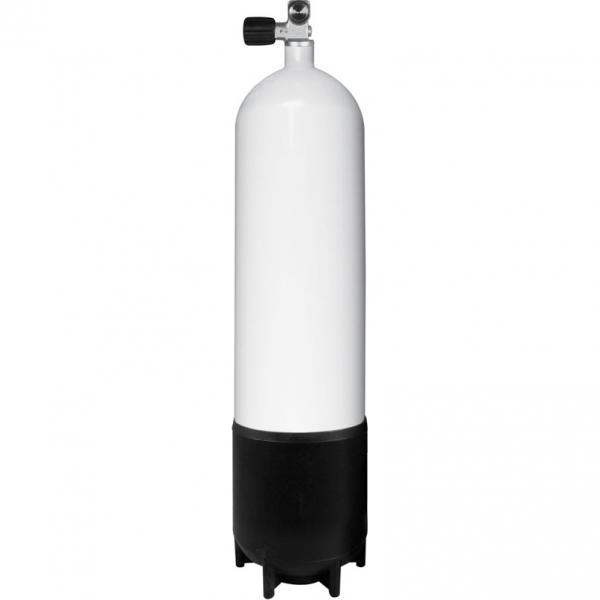 BTS Stahlflasche - 300 Bar - Monoventil