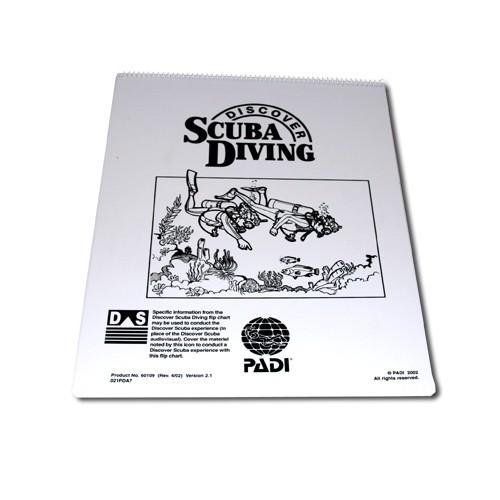 PADI Discover Scuba Diving - Flip Chart
