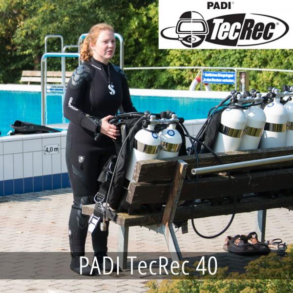 PADI TecRec 40