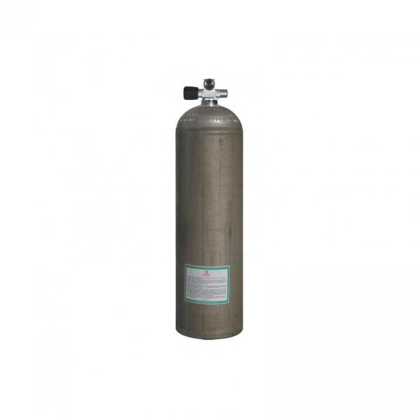 BTS Aluminiumflasche mit Monoventil (Links)