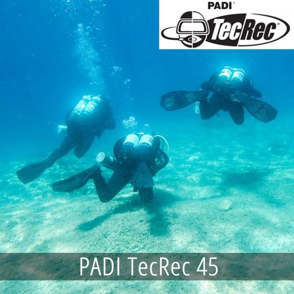 PADI TecRec 45