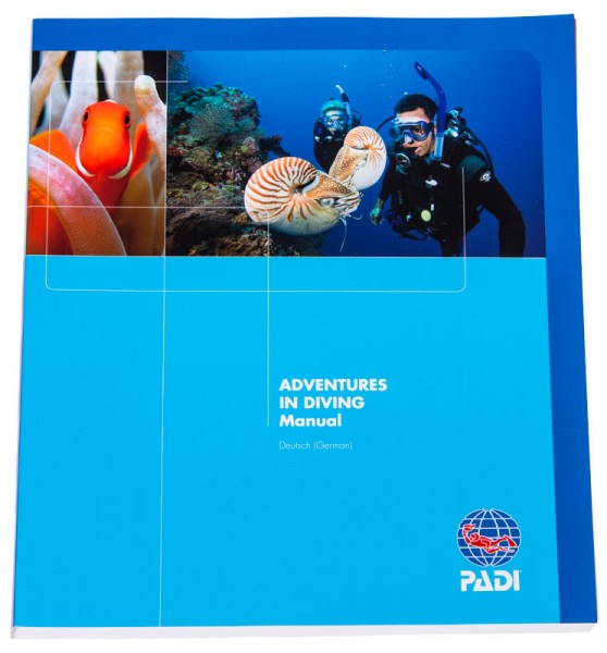 PADI Advanced Open Water Diver Manual
