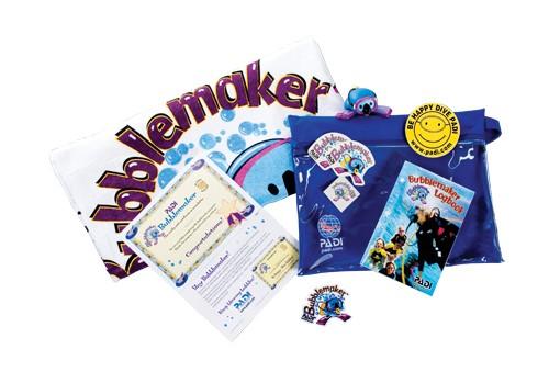 PADI Bubblemaker Crewpack