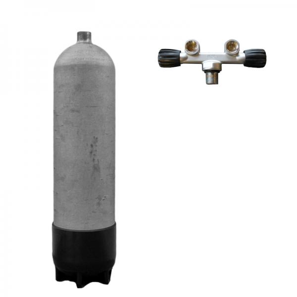 """Faber 200 bar Sthalflasche """"leicht"""" - Mono -Twin"""