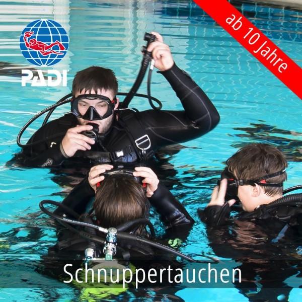 PADI Discover Scuba Diver +