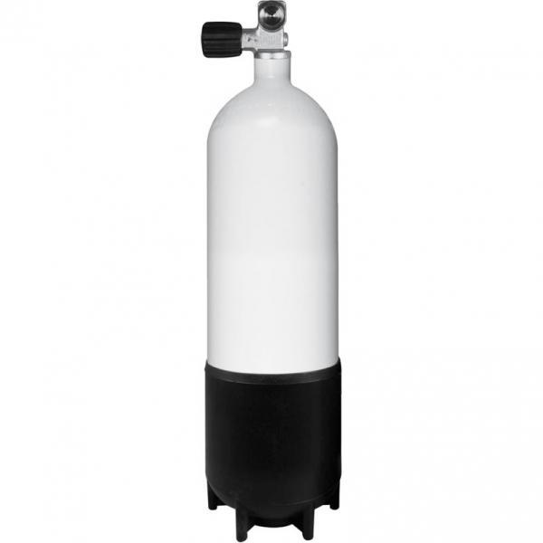 BTS Stahlflasche konkav 230 Bar - Mono Ventil