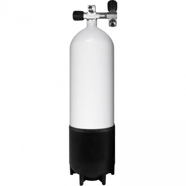 BTS Stahlflasche - 230 Bar - inkl. 2. Abgang