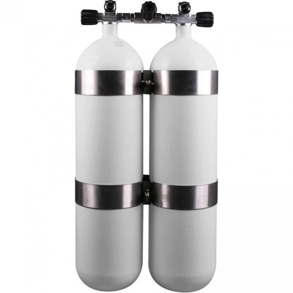 "BTS - Doppelflasche (Stahl) - 230 bar ""DIR"""