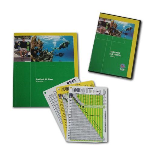 PADI Enriched Air Diver (Nitrox) Crewpack - inkl. Tabellen