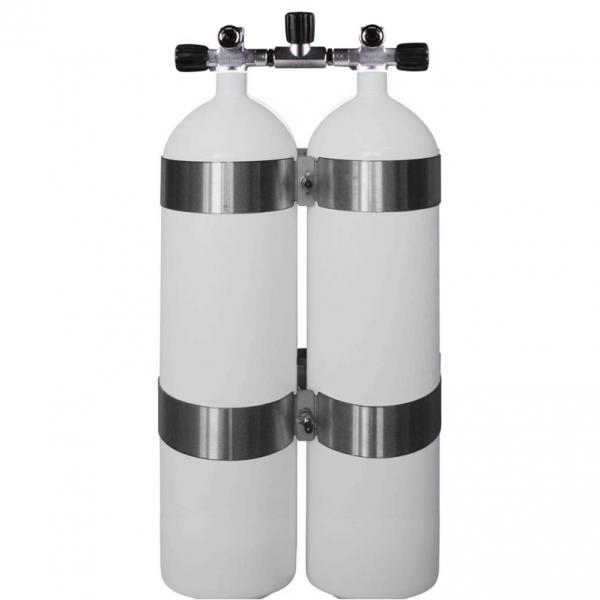 """BTS - Doppelflasche (Stahl-konkav) - 230 bar """"DIR"""""""